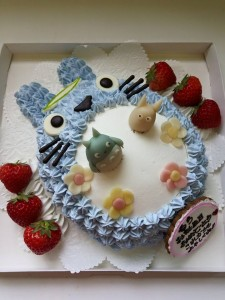 トトロケーキ
