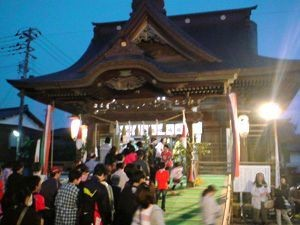 戸隠神社春季祭礼